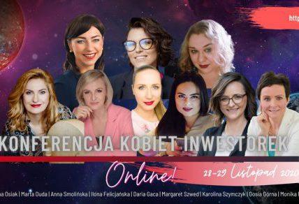 Konferencja Kobiet Inwestorek już w listopadzie!