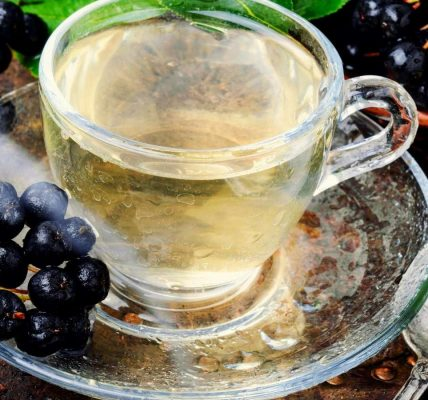 odwodnienie aronia herbatka